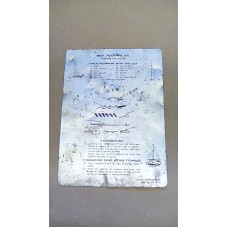 LARKSPUR MAST TELESCOPIC 27FT ALLOY WORKING INSTRUCTIONS PLATE