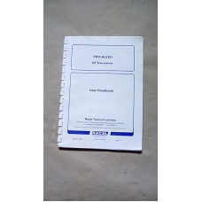 RACAL SYNCAL 2000 PRM4790A USER HANDBOOK  A5 RING BOUND ORIGINAL