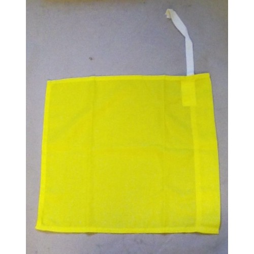 MILITARY VEHICLE CONVOY FLAG YELLOW