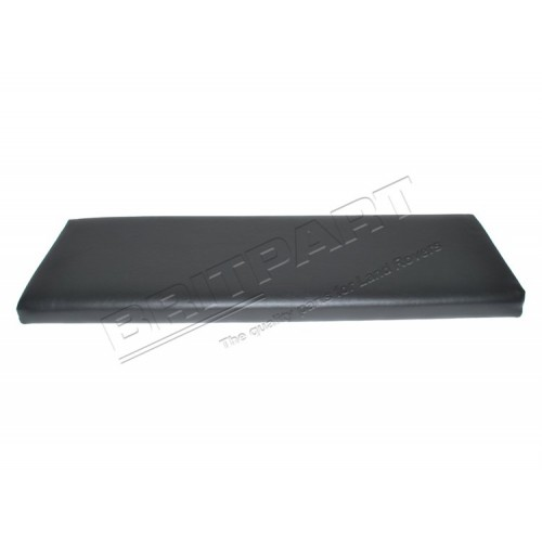 BACKREST BENCH BLACK VINYL