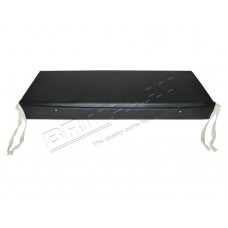 SWB CUSHION BENCH BLACK VINYL