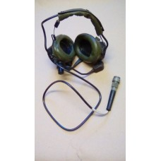 CLANSMAN LIGHTWEIGHT HEADSET AND MICROPHONE ASSY SOR