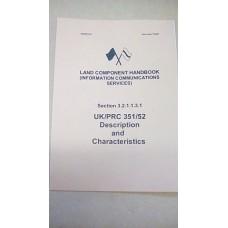 LAND COMPONENT HANDBOOK CLANSMAN UK/PRC351/52 D&C