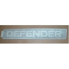 FRONT GRILLE DEFENDER DECAL