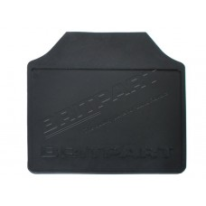 110 REAR MUDFLAP RIBBED RUBBER