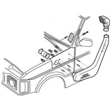 DISCOVERY 1 300 TDI V8 SAFARI SNORKEL