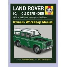 HAYNES REPAIR MANUAL DEFENDER 1983 - 95