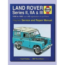 SERIES 2, 2A & 3 HAYNES REPAIR MANUAL