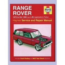 HAYNES REP MAN RRC 1970 - OCT 1992 (UP TO K REG) - PETROL
