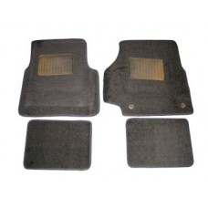 DEFENDER FRONT AND REAR CARPET SET - BLACK