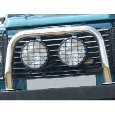 DRIVING LAMPS 8 INCH CHROME - PAIR