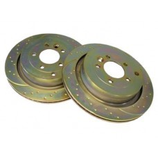 EBC REAR PERFORMANCE BRAKE DISCS