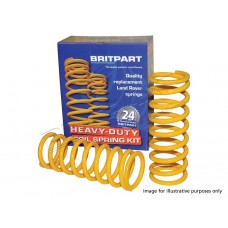 YELLOW PERFORMANCE STANDARD HEIGHT REAR COIL SPRINGS - PAIR