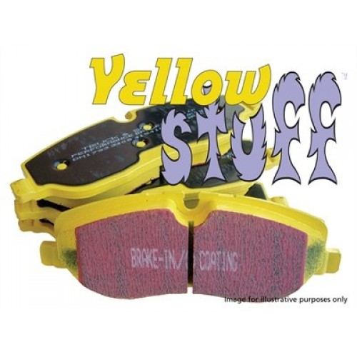 EBC YELLOW STUFF PERFORMANCE FRONT BRAKE PADS