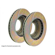 EBC PERFORMANCE FRONT BRAKE DISCS (PAIR)