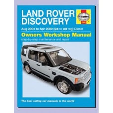 DISCOVERY 3 HAYNES OWNERS WORKSHIOP MANUAL