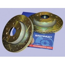 PERFORMANCE REAR BRAKE DISCS