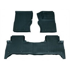 RUBBER OVER MATS SET RHD