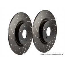 EBC PERFORMANCE REAR BRAKE DISCS