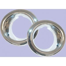 FOG LAMP SURROUNDS (CHROME)