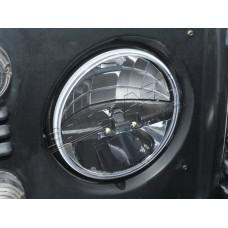 7 INCH ROUND LED HEADLAMP RHD (PAIR)