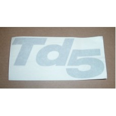 TD5 WING DECAL
