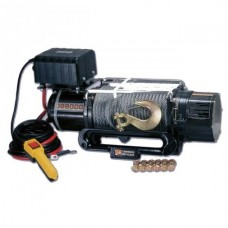 BRITPART PULLING POWER 8, 000 lbs ELECTRIC WINCH - 12 volt