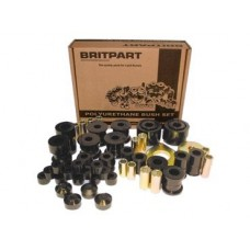 BLACK POLYURETHANE BUSH KIT SERIES 3 LWB
