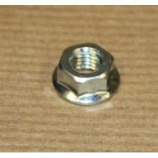 M6 FLANGE NUT PLAIN