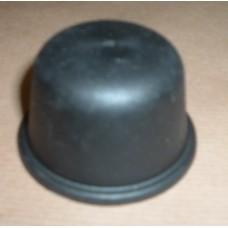 BLACK PLASTIC HUB CAP