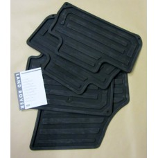 RUBBER FLOOR MAT SET  4 PIECE