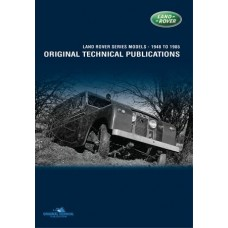 LAND ROVER SERIES ORGINAL TECHNICAL PUBLICATIONS DVD