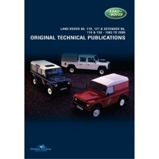 DEFENDER 90,110,127 & 130 ORIGINAL TECHNICAL PUBLICATIONS DVD