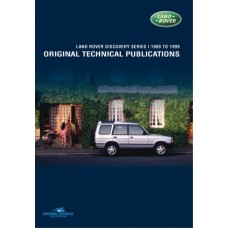 DISCOVERY 1 ORIGINAL TECHNICAL PUBLICATIONS DVD