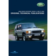 DISCOVERY 2 ORIGINAL TECHNICAL PUBLICATIONS DVD