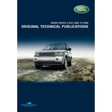 RANGE ROVER L322 ORIGINAL TECHNICAL PUBLICATIONS DVD