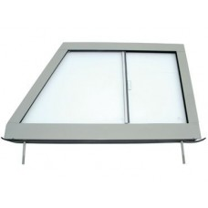 DOOR TOP WITH GLASS LH