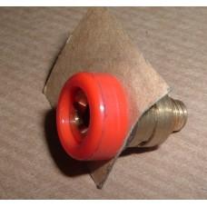 INSPECTION LAMP SOCKET RED