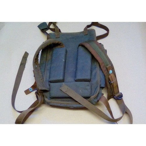 CLANSMAN PRC344 GREEN NYLON BACK PACK ASSY.