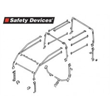 6 POINT FULL EXTERNAL ROLL CAGE