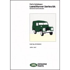 SERIES 2A BONNETED CONTROL MODELS PARTS CATALOGUE