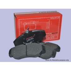 BRITPART XS BRAKE PAD SET  REAR