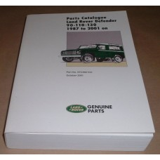 LAND ROVER DEFENDER 90-110-130 PARTS CATALOGUE 1987-2006