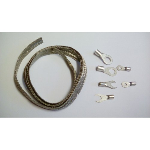RACAL MANPACK INTO VEHICLE EARTHING KIT