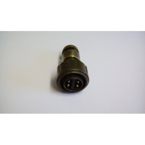 4 PIN MALE SOCKET 1.5INCH  OD
