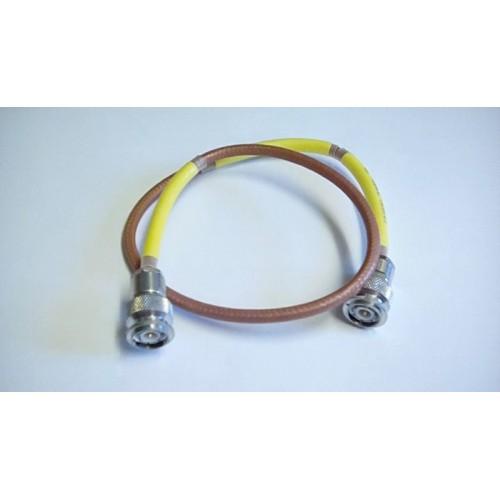 RACAL TNC TNC RF CABLE LINK LEAD ASSY 20CM LG