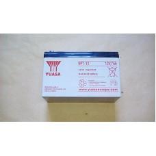 YUASA NP7-12 LEAD ACID BATTERY 12V 7AH