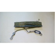 RACAL ANTENNA MAST GUY ROPE AND SPOOL ASSY