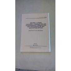 HARRIS AN/PRC117D (E) INSTRUCTION MANUAL