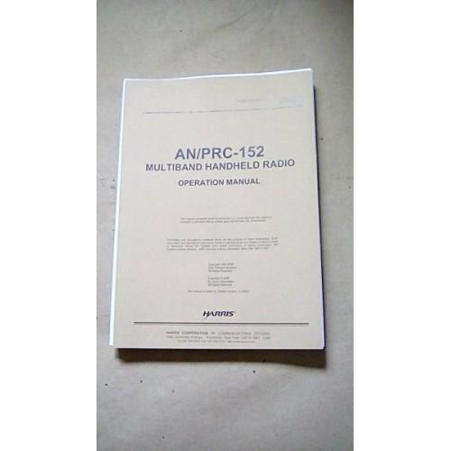 HARRIS AN/PRC152 HANDHELD RADIO OPERATION MANUAL
